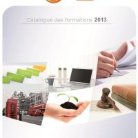 le catalogue des formations